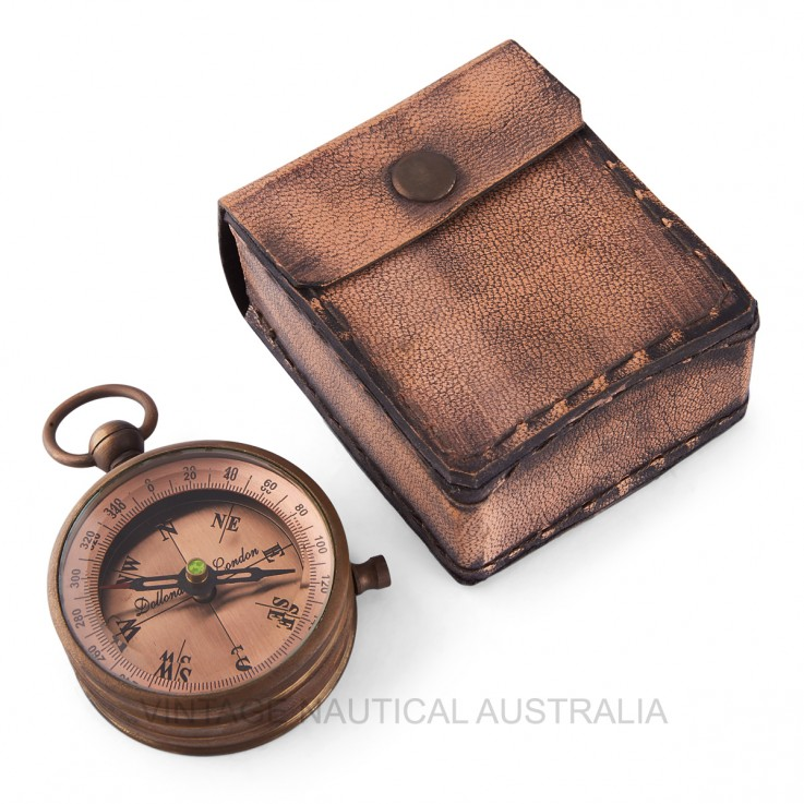 Compass – Dollond Copper Dial Brass Anti