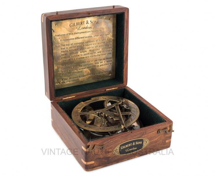 Sundial – Compass – Gilbert & Sons