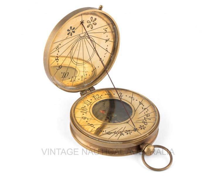 Sundial Compass – Australian Penny 1930