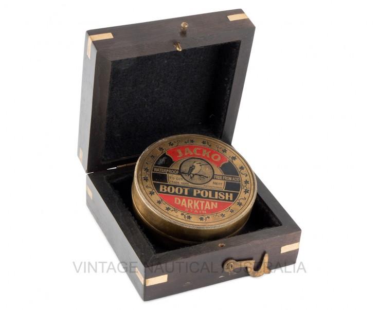Sundial Compass- Jacko Boot Polish Brass