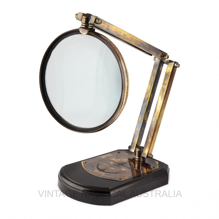Magnifying Glass – 200mm on Wooden Stand