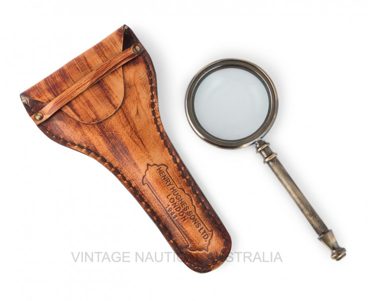 Magnifying Glass – Henry Hughes Brass An
