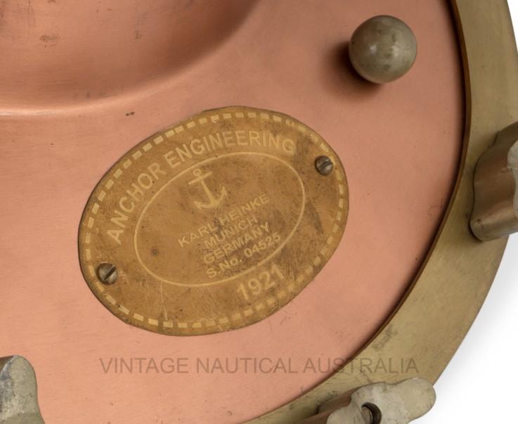 Diver Helmet (Scuba) Copper Antique Fini