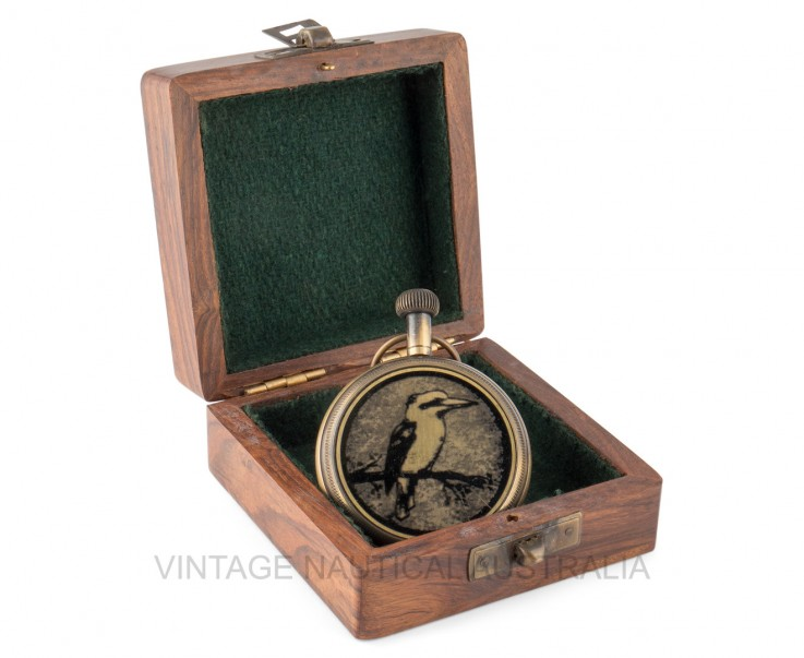 Pocket Watch – Kookaburra (Kingfisher Bi