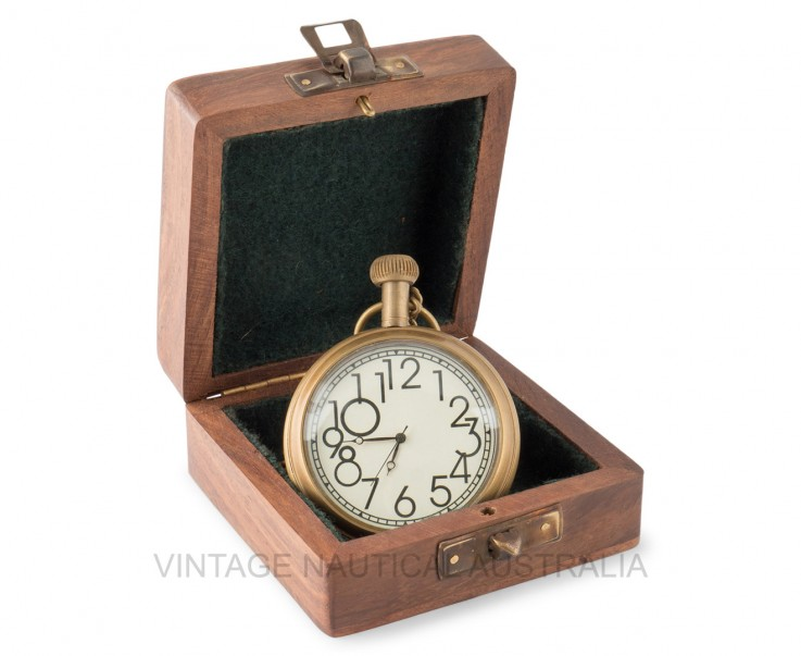 Pocket Watch – Titanic Ship Brass Antiqu