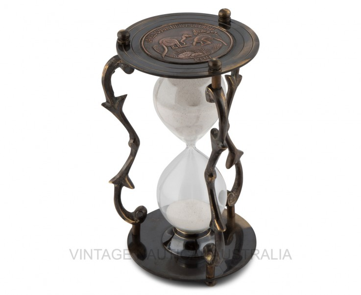 Hour Glass – James Cook Brass Antique Fi