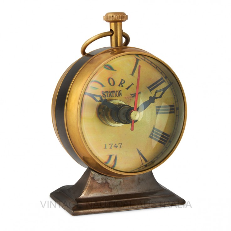 Table Clock – Australian 1930 Penny Bras