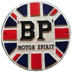 BP Motor Spirit Wall Plaque
