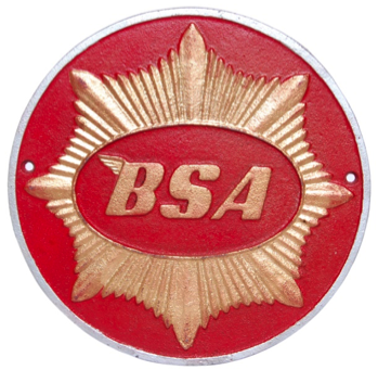 BSA Wall Plaque Round