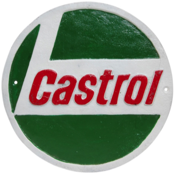 Castrol Wall Plaque Round