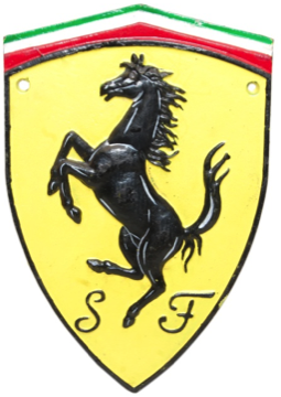 Ferrari Horse Wall Plaque