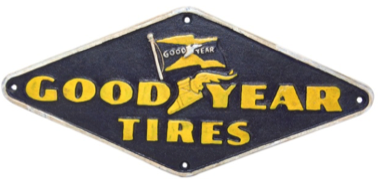 Good Year Tyres wall Plaque Diamond