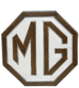 MG Wall Plaque 8 Sides