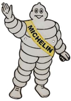 Michelin Wall Plaque Figure
