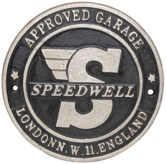 Speedwell Wall Plaque Round