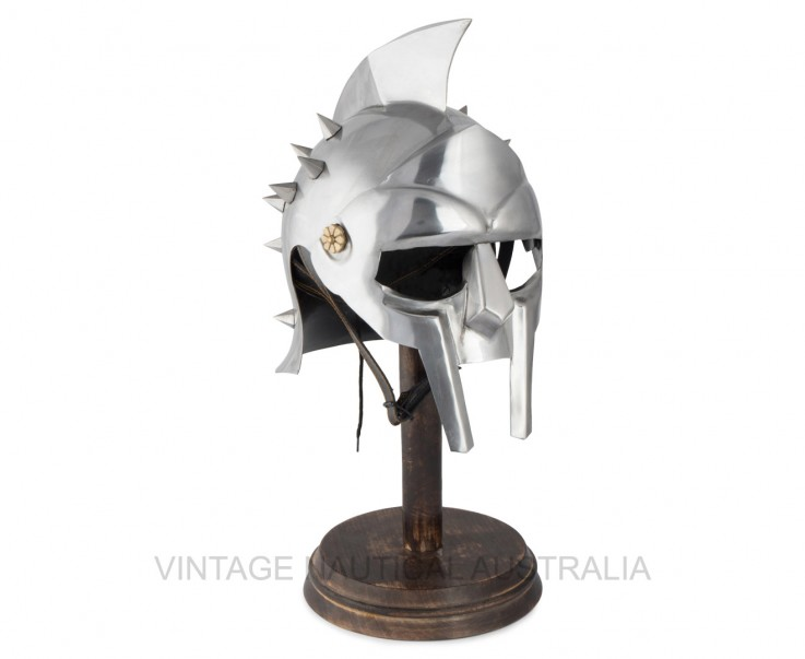 Medieval Armor Helmet – Maximus Gladiato