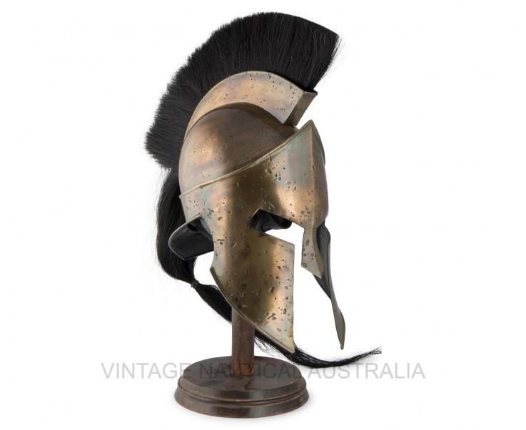 Medieval Helmet – 300 Spartan Leonidas A