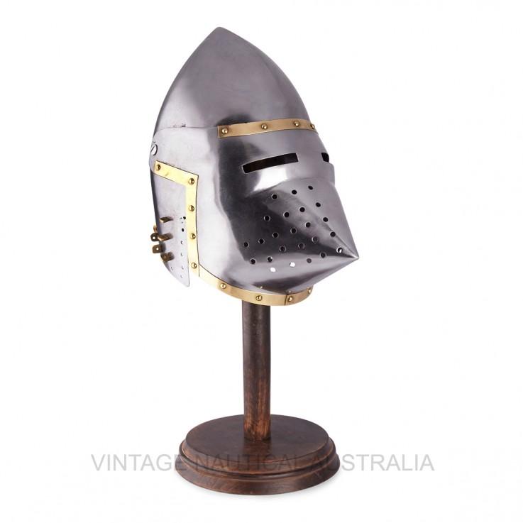 Medieval Helmet – Bascinet- Pig Face