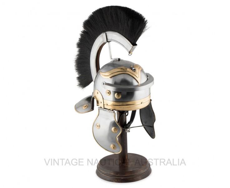 Medieval Helmet – Roman Centurion Antiqu