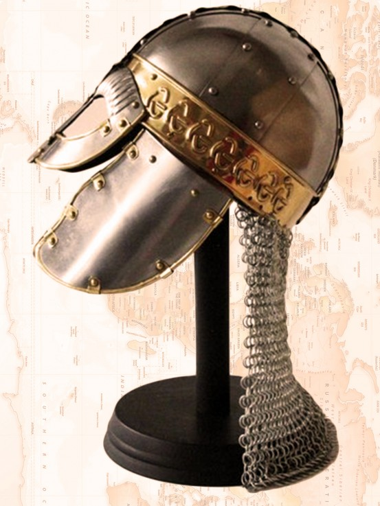 Medieval Helmet – Viking Danish Wolf Cel