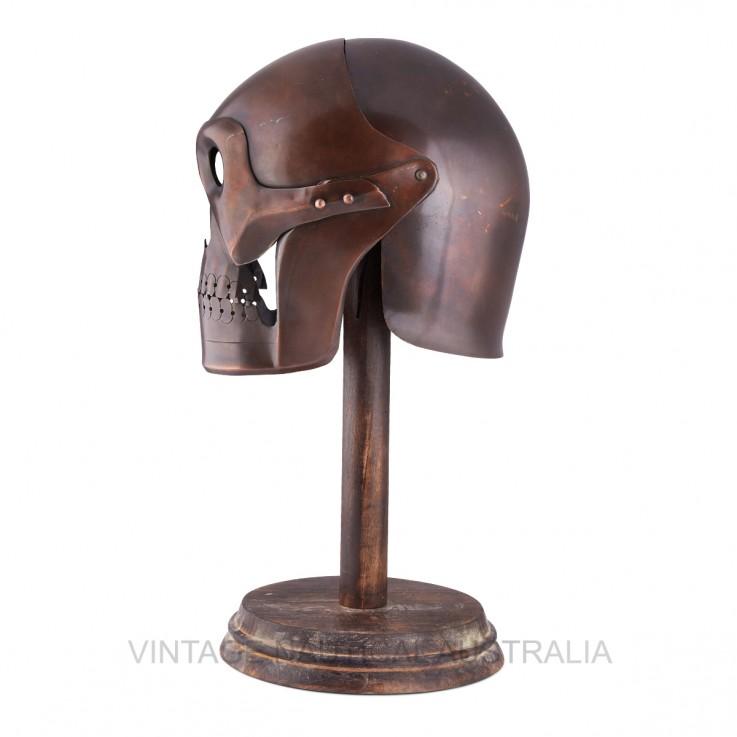 Medieval Helmet – Vintage Skull Shape