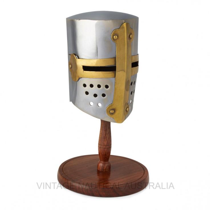 Miniature Warrior Helmet – Crusader