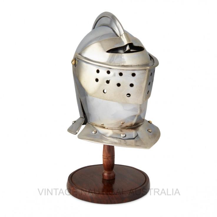 Miniature Warrior Helmet – Medieval Basc