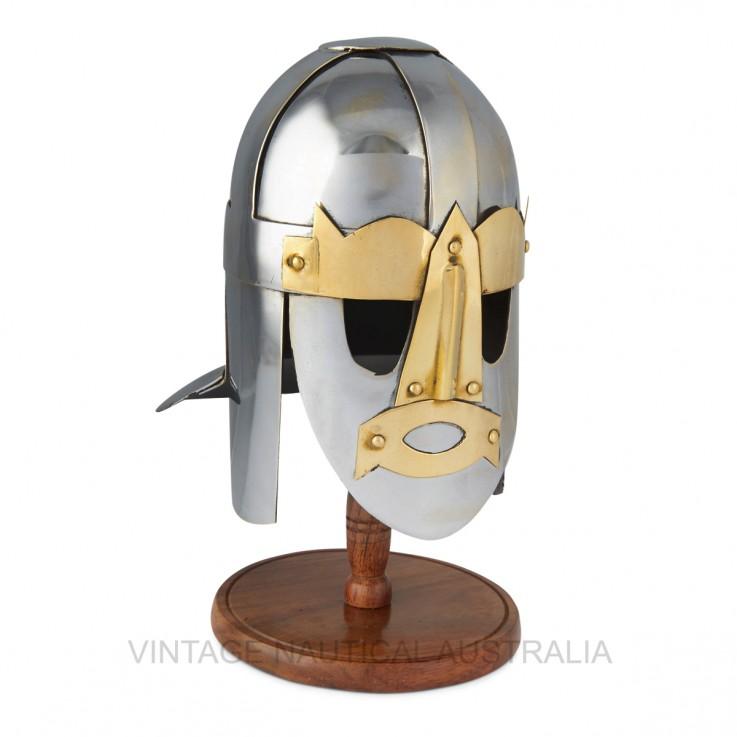Miniature Warrior Helmet – Viking Sutton