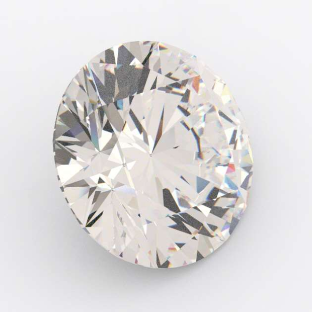 0.24 Carat Round Diamond K Colour VS2 Cl