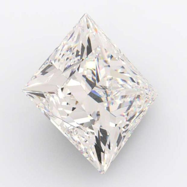 5.81 Carat Princess Diamond K Colour SI2
