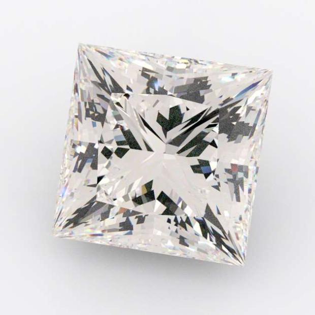 3.05 Carat Princess Diamond E Colour SI1