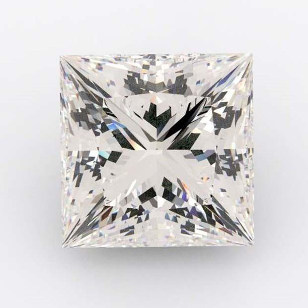 0.96 Carat Princess Diamond F Colour SI1