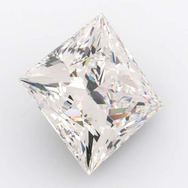 0.65 Carat Princess Diamond E Colour VVS