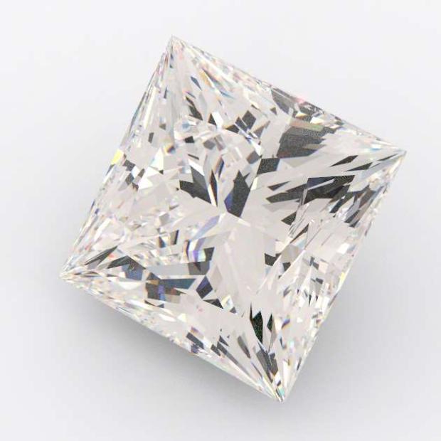 0.55 Carat Princess Diamond I Colour VS2