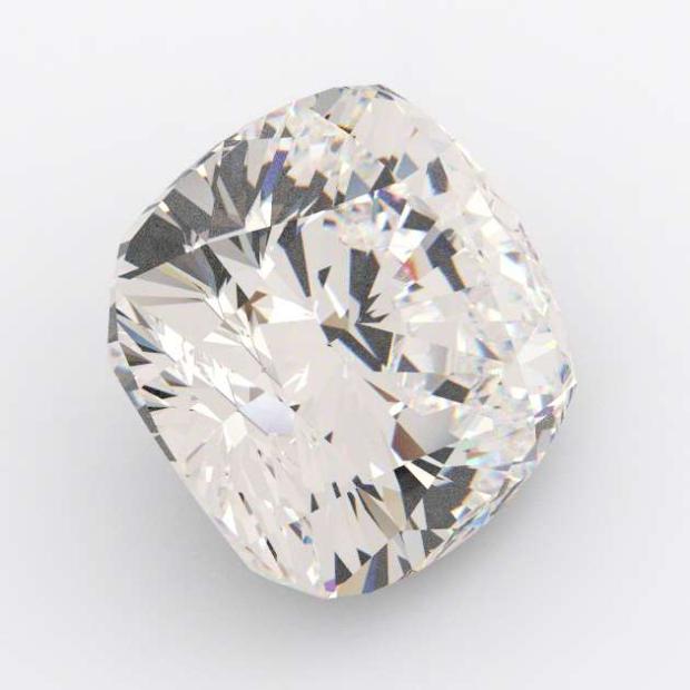 7.07 Carat Cushion Diamond E Colour VVS1