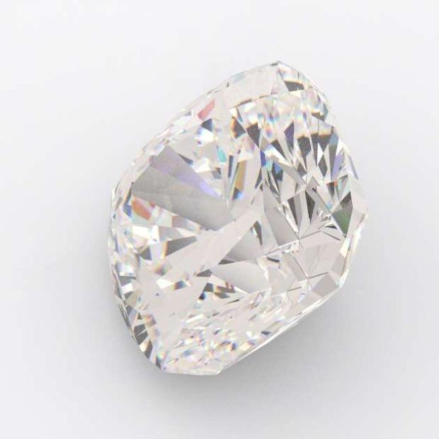 5.02 Carat Cushion Diamond J Colour VS2