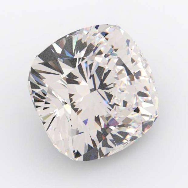 3.51 Carat Cushion Diamond D Colour VS1