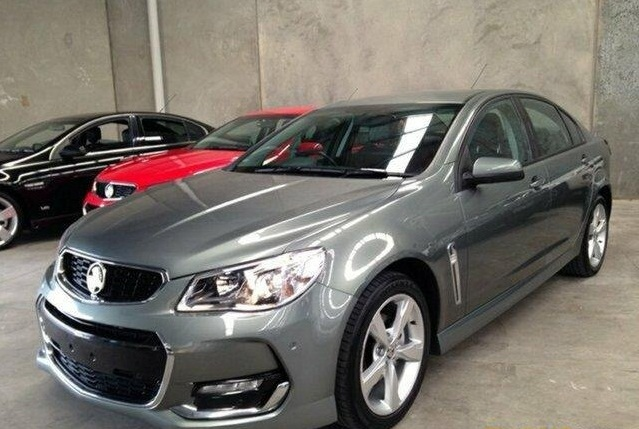 2016 Holden Commodore SV6 VF II MY16 Sed
