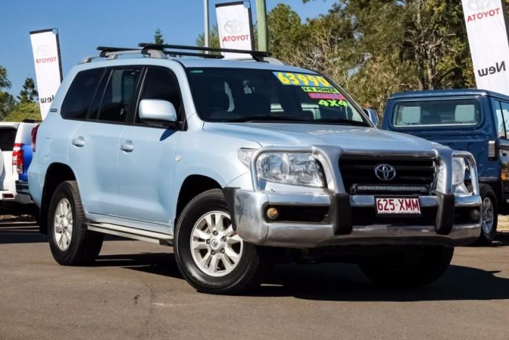 2010 Toyota Landcruiser VDJ200R 60th Ann