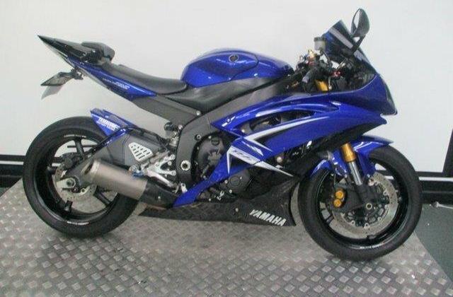 2009 Yamaha YZF-R6 600CC Sports