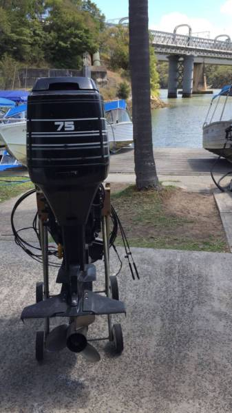 75HP Mercury Outboard