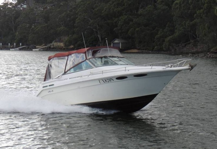 Sea Ray 270 Weekender 300hp Mercruiser
