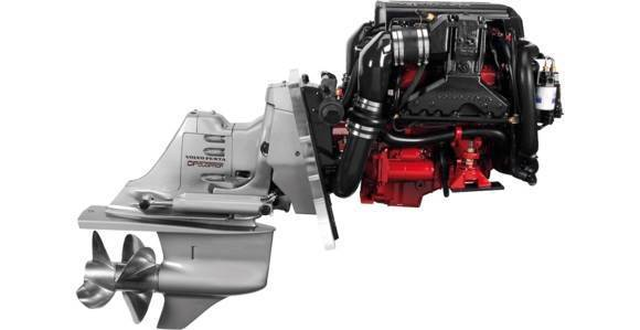 NEW VP V6-200/DPS Sterndrive