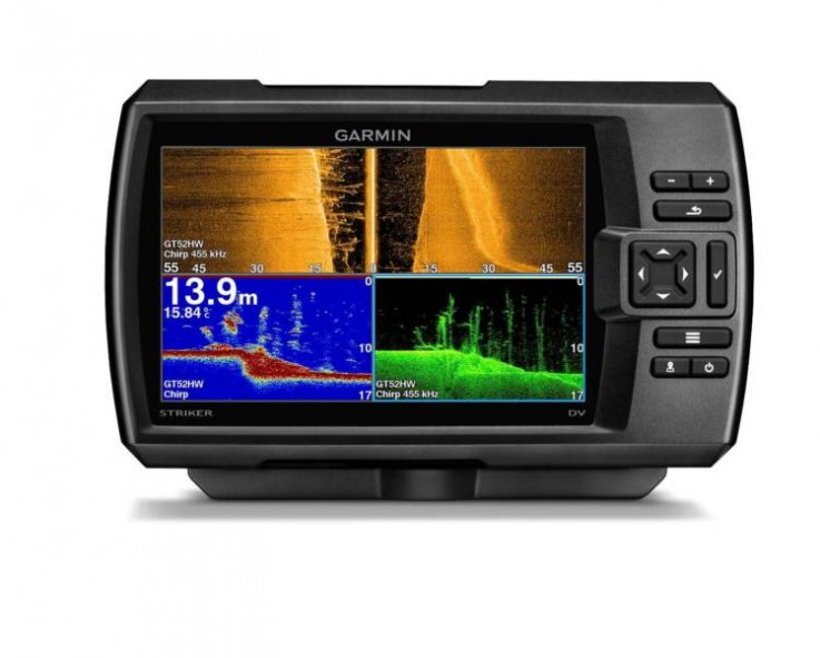 NEW Garmin Striker 7sv, Worldwide
