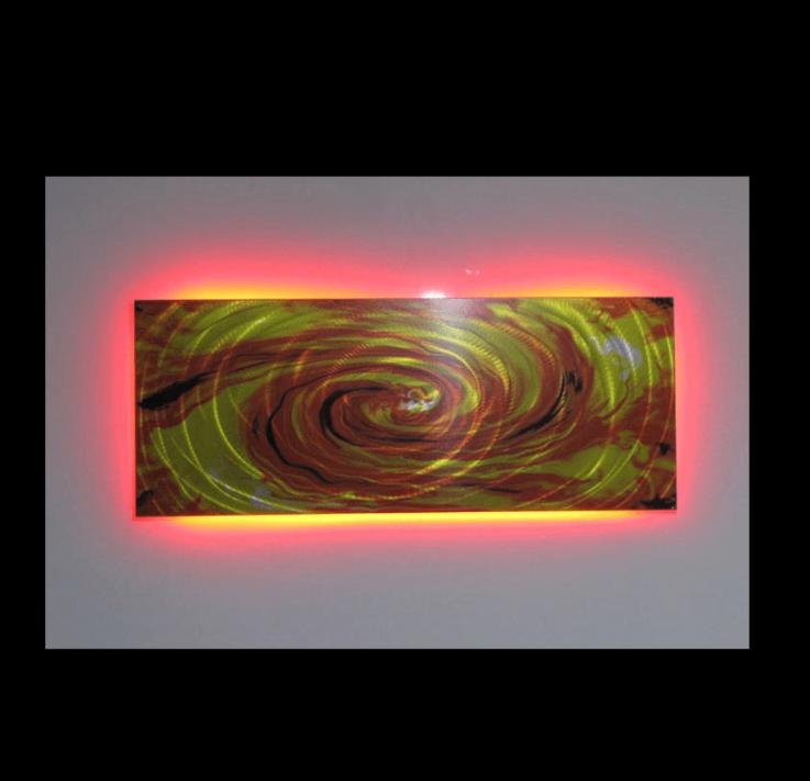 Firestorm LED Art
