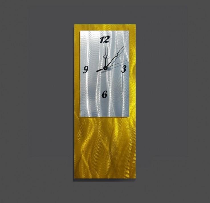 Gold Wall Clock Design