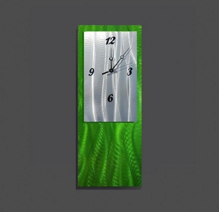 Green Wall Clock Design