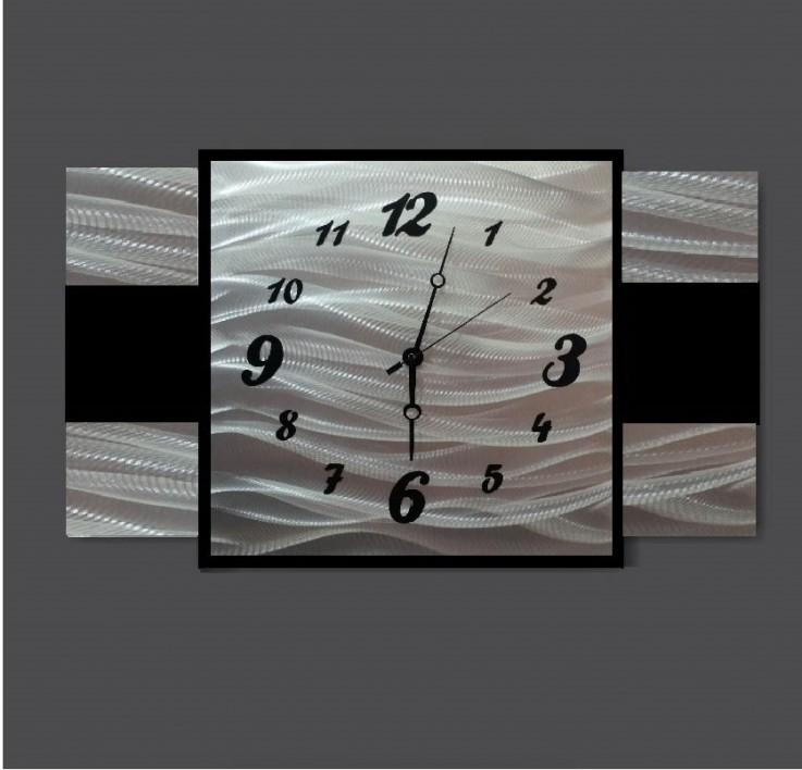 Large Rectangle Clock