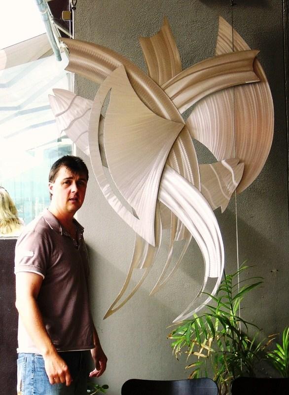 """Metal Sculpture Design """"Wandering Spirit"""