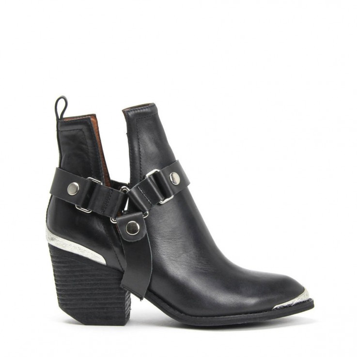 JEFFREY CAMPBELL ORWELL-HMT HARNESS BOOT